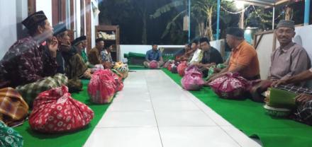 Kenduri Suran di mushola Dusun Ngupit